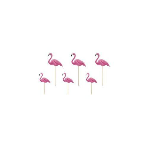 Flamingók Dekoráció Pálcán