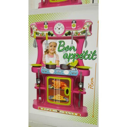 Gyerek konyhabútor + 21 db konyhai felszereléssel