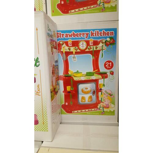Gyerek konyhabútór + 21 db konyhai kiegészítőkkel