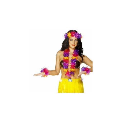 Hawaii virág füzér Szett