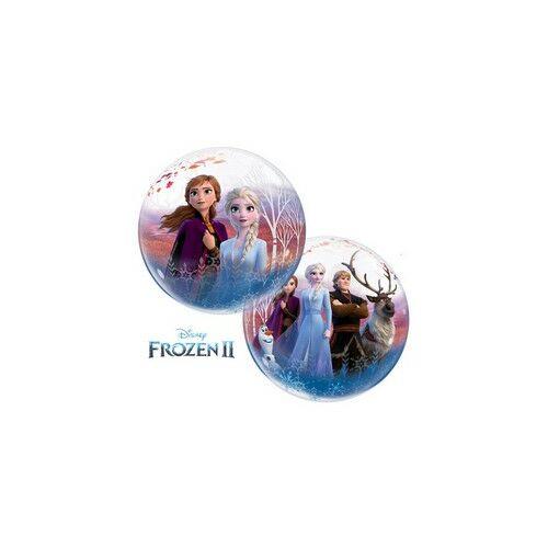 Jégvarázs 2 - Disney Frozen 2 Bubble Lufi 56 cm es