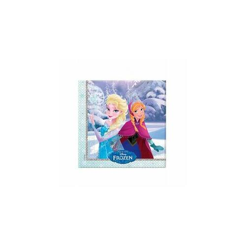 Jégvarázs - Frozen Elsa & Anna Parti Szalvéták