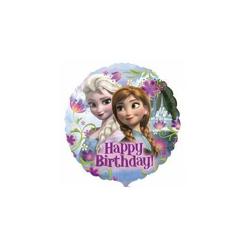 Happy Birthday Jégvarázs - Disney Frozen - Szülinapi Fólia Lufi 43 cm es
