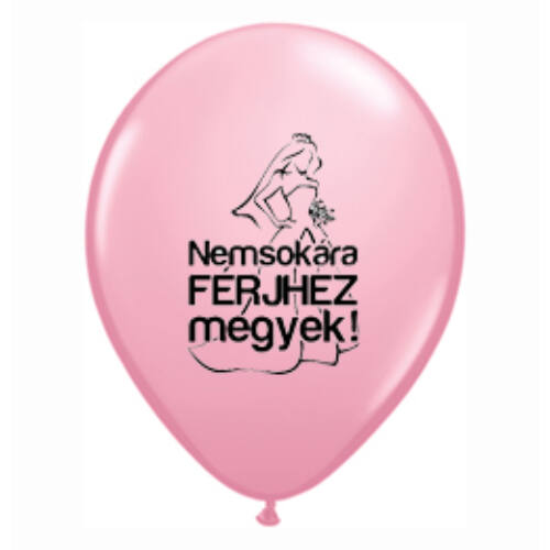 Lufi Lánybúcsúra - Nemsokára Férjhez Megyek, Pink