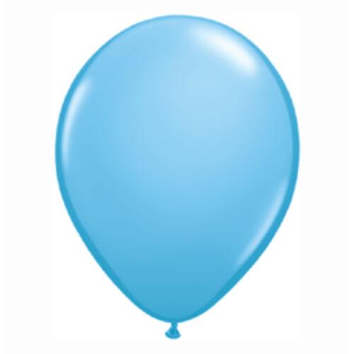13 cm es Pale Blue (Standard) Kerek Lufi (100 db/csomag)