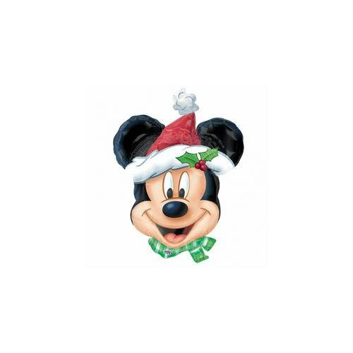 69 cm es Miki Egér Mouse Christmas Super Shape Fólia Lufi