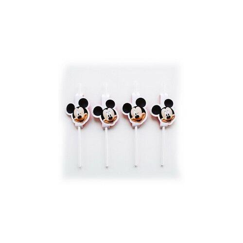 Mikiegér - Mickey Mouse Parti Szívószál