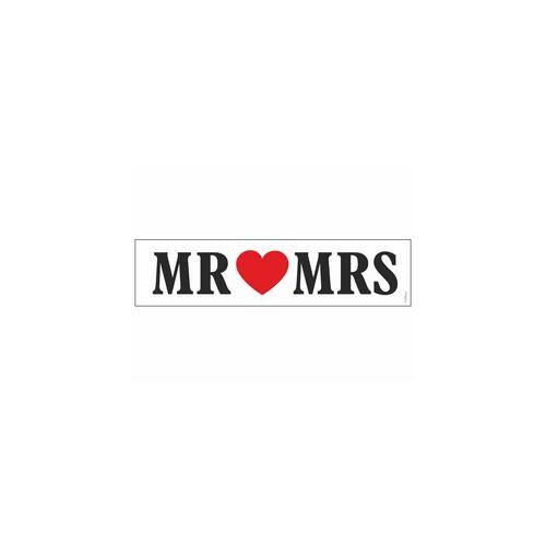 Rendszámtábla, Mr és Mrs Szíves Esküvői Rendszámtábla