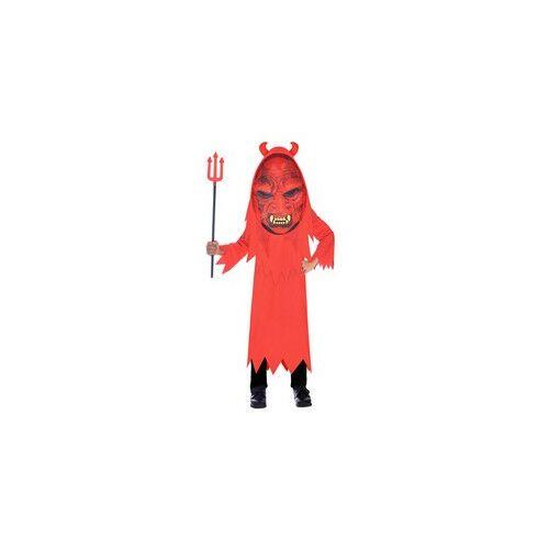Nagy Fejű Ördög Gyerek Jelmez SZETT Halloweenre
