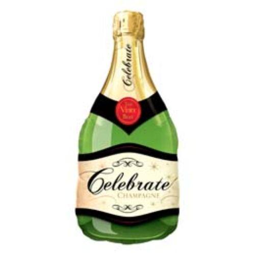 99 cm-es Pezsgősüveg - Champagne Bottle Celebrate Fólia Lufi
