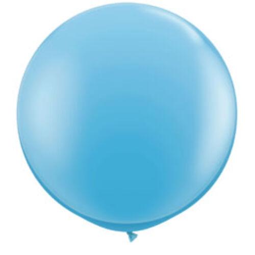 Kék - Világoskék ÓRIÁSI LÉGGÖMB, 91 CM -ES, 2DB/CS
