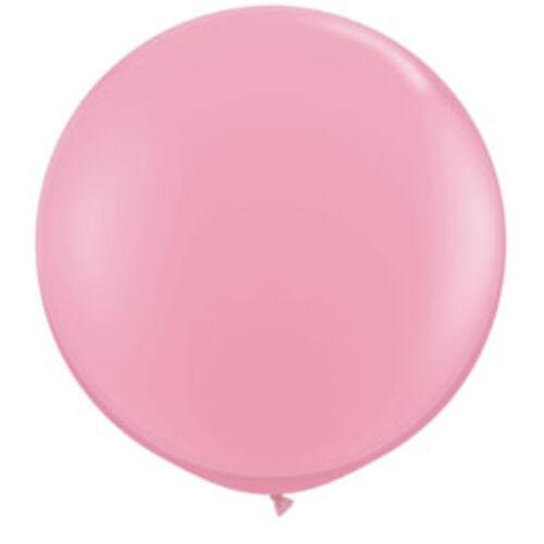 Rózsaszín Óriási léggömb, 91cm, 2db/cs