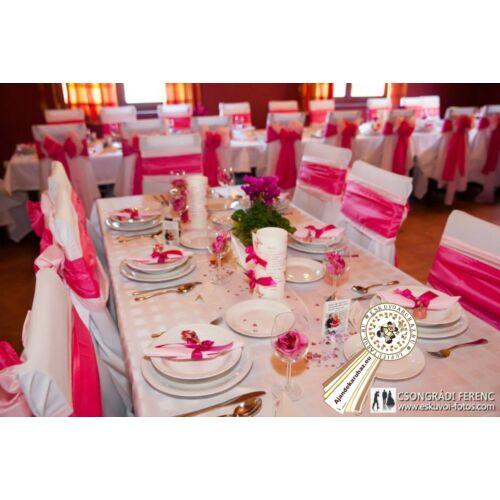 Ciklámen dekorációhoz Menü és Vacsora kártya