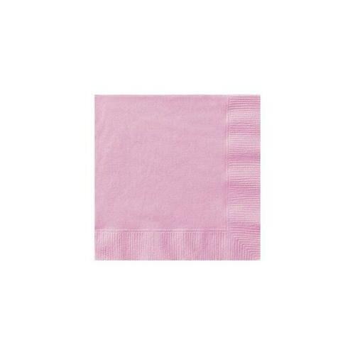 Rózsaszín- Pink Papír Party Szalvéta