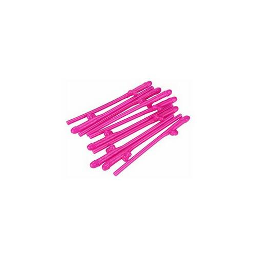 Pink Willy Szívószálak Lánybúcsúra