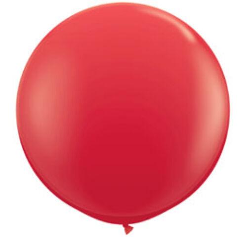 Piros Óriási léggömb, 91 cm -es, 2db/cs