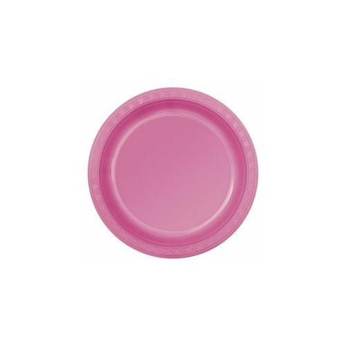 Rózsaszín Műanyag Tányér