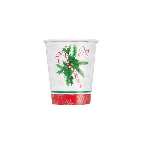 Karácsonyi Poharak Candy Cane - Cukorpálca