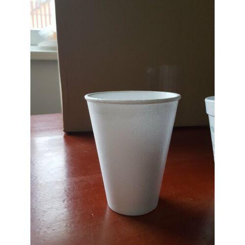 Thermo, eldobható pohár fehér