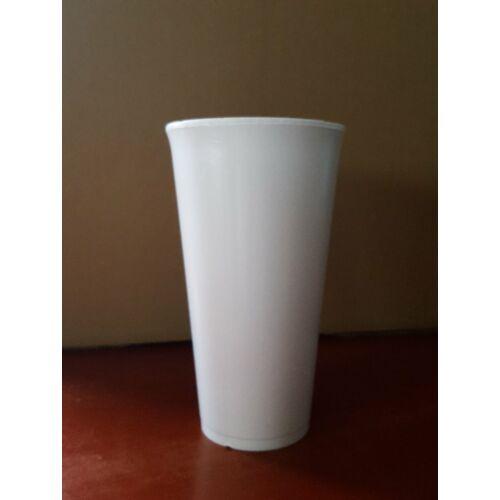Thermo, eldobhat fehér pohár