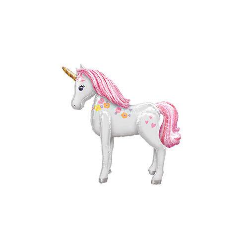 Óriási Magical Unicorn - Unikornis Sétáló Fólia Lufi-egyszarvú