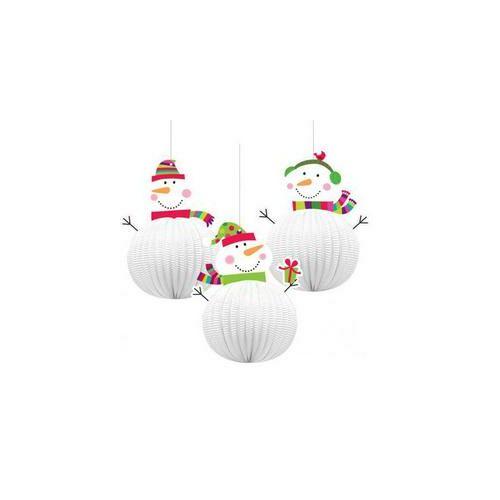Hóemberes Karácsonyi Lampion Függő Dekorációk